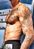 hombre escort de cuerpo con tatuajes de dara el mejor sexo de tu vida