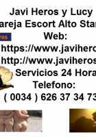 JAVI HEROS Y LUCY - Escort independiente disponible en Sevilla
